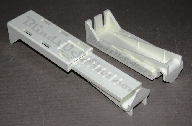 Wide Pocket Valance Drapery Rod Parts And Mounting Hardware Kirsch Continental I Ii And