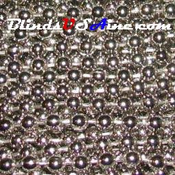 Metal & Plastic Beaded Chain for Blinds and Shades | Blinds