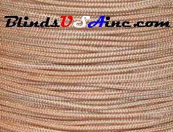 1.2 millimeter cord, poly shade cord, color beige