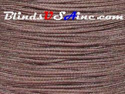 1.4 millimeter cord, poly shade cord, color cocoa