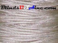 1.8 millimeter cord, poly shade cord, color alabaster