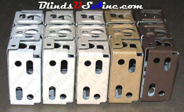Graber Horizontal blind box end brackets