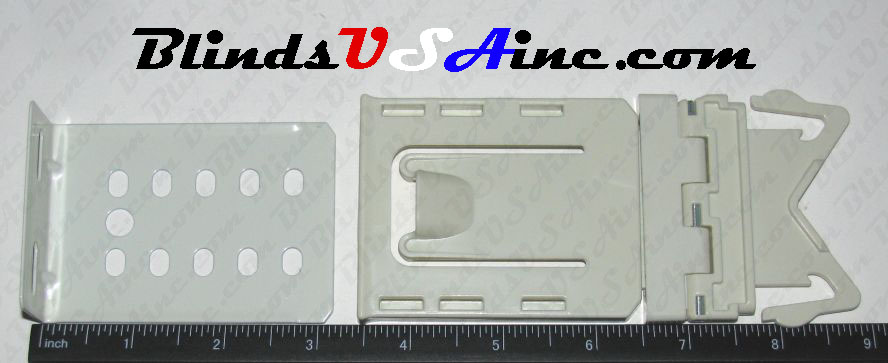 Kirsch Continental Graber Dauphine Wide Pocket Valance Rod Parts