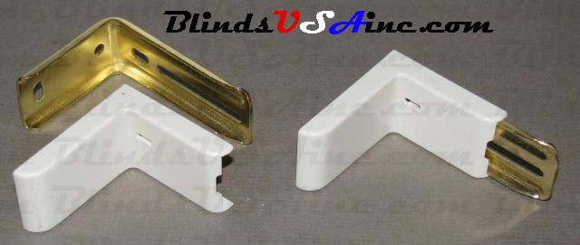 Kirsch Decorative Rod Support Bracket Cover, shown on bracket, Item # DRP-DEC1CAP, Part # 51138, Finish: Off White