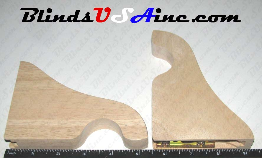 Kirsch Wood Trends Bracket dimensions, part # 5611BB.091