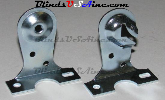 Roller Shade Ceiling Mounting Brackets