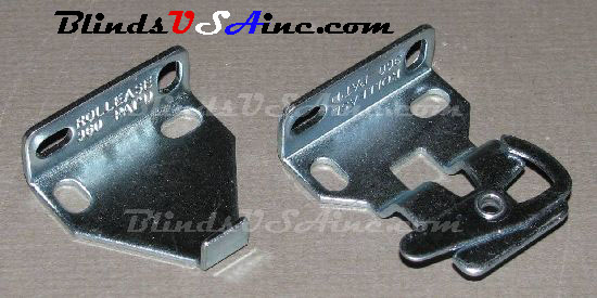 Rollease Clutch Roller Shade Brackets RC-21